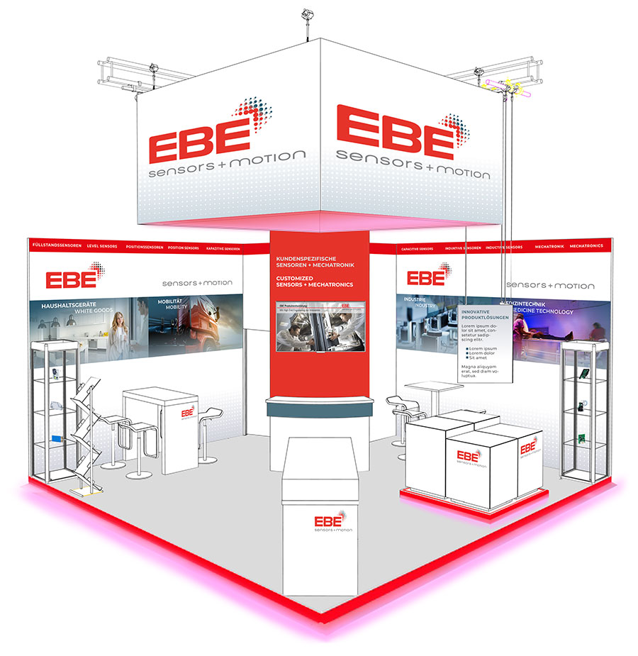 ebe messestand electronica 2018